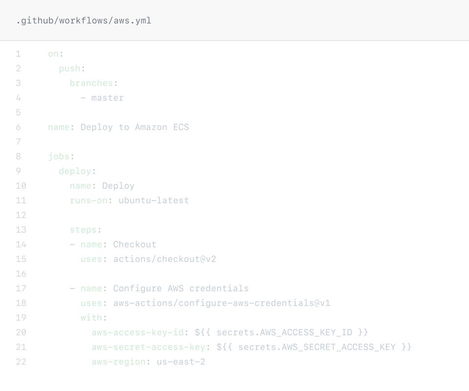 Workflow file screenshot