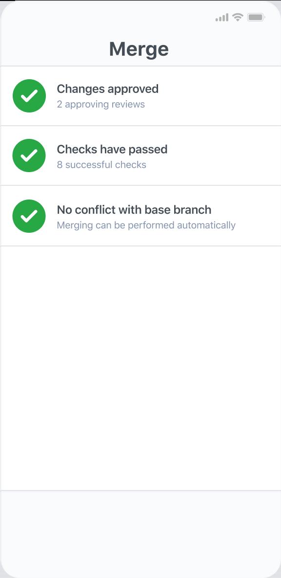 GitHub App Pull Request