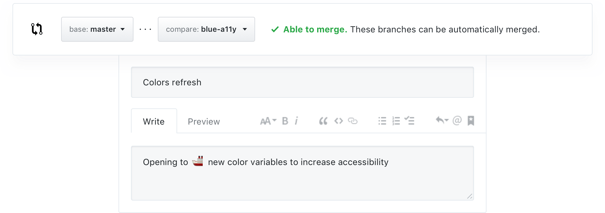 Features · Code review · GitHub