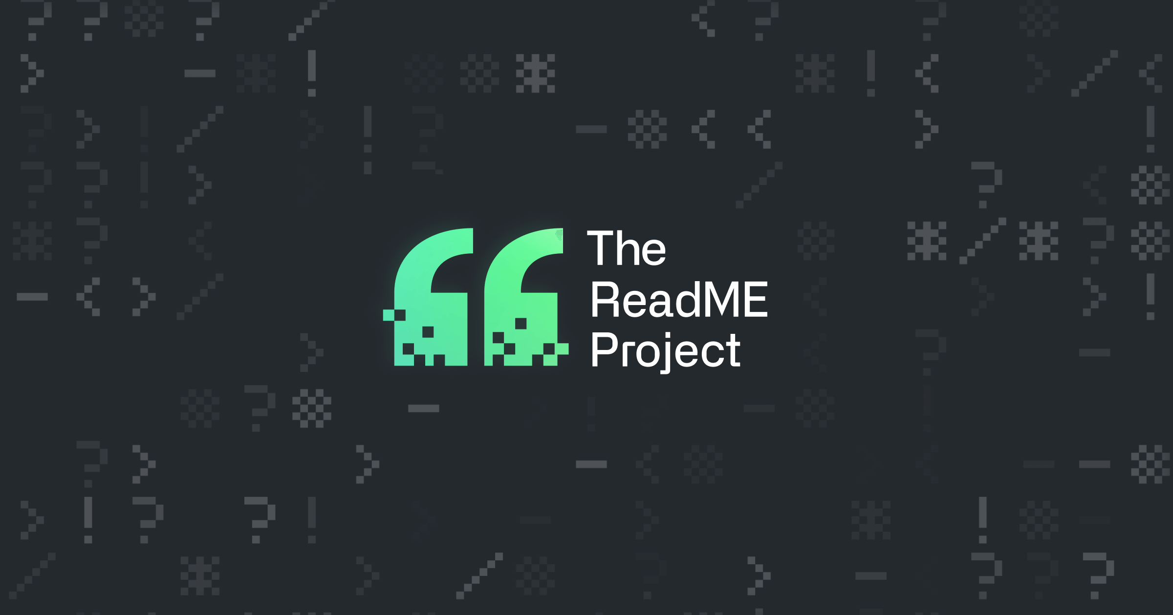 The ReadME Project · Meet the people behind the projects you love · GitHub